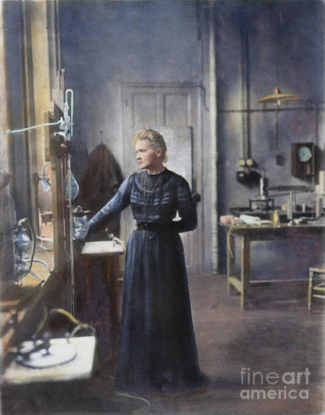 Photograph - Marie Curie (1867-1934) by Granger