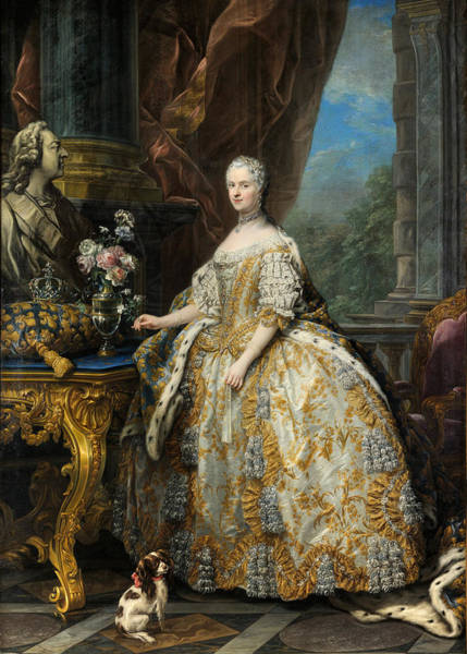 Wall Art - Painting - Marie Leczinska Queen Of France  by Celestial Images