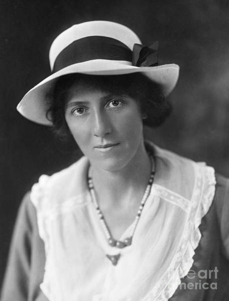 Photograph - Marie Stopes (1880-1958) by Granger