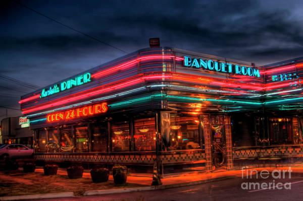 Rockdale County Photograph - Marietta Diner by Corky Willis Atlanta Photography