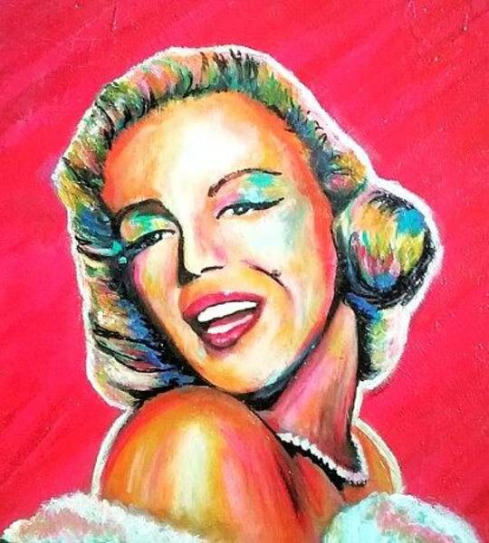 Painting - Marilyn by Amy Lindemann