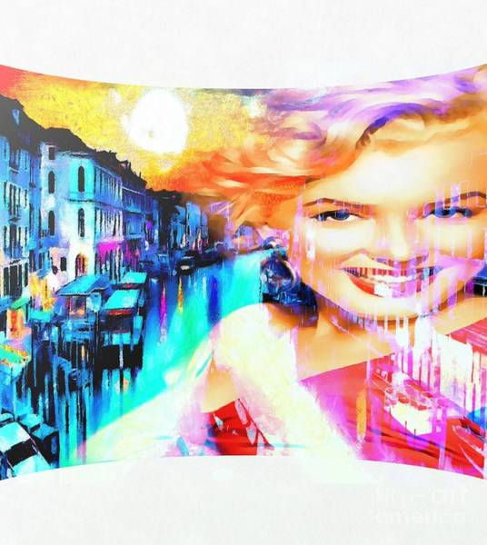 Painting - Marilyn In Italy by Catherine Lott