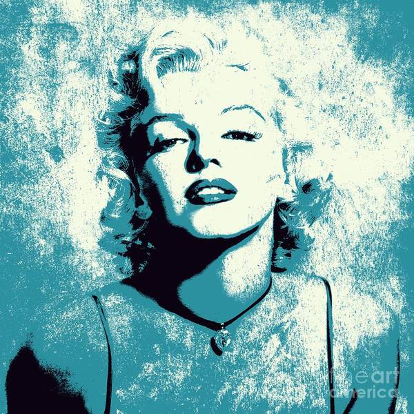 Actor Digital Art - Marilyn Monroe - 201 by Variance Collections
