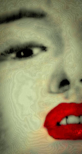 Wall Art - Digital Art - Marilyn Monroe 6 by David Patterson