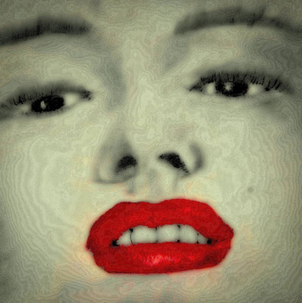 Wall Art - Digital Art - Marilyn Monroe 8 by David Patterson
