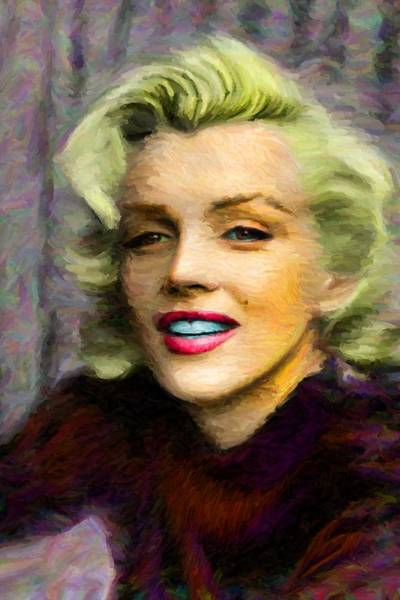 Digital Art - Marilyn Monroe by Caito Junqueira