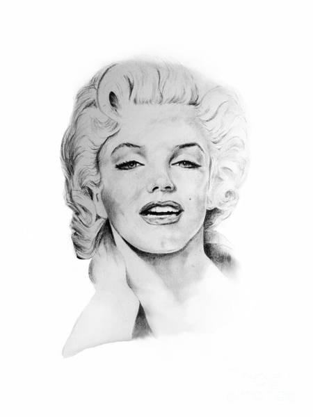 Norma Jeane Mortenson Painting - Marilyn Monroe by Carlos Salazar