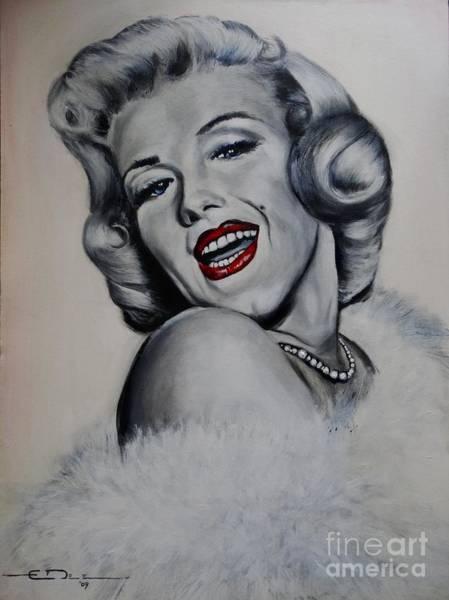 Painting -  Marilyn Monroe by Eric Dee