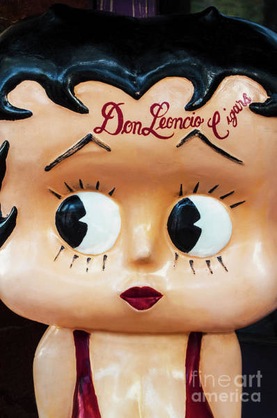 Greeters Photograph - Marilyn Monroe Meets Betty  Boop With A Latin Flair by Frances Ann Hattier