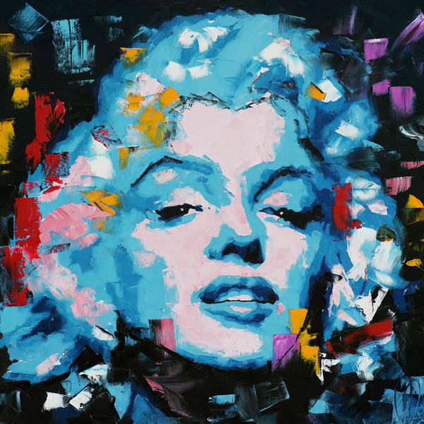 Norma Wall Art - Painting - Marilyn Monroe by Richard Day