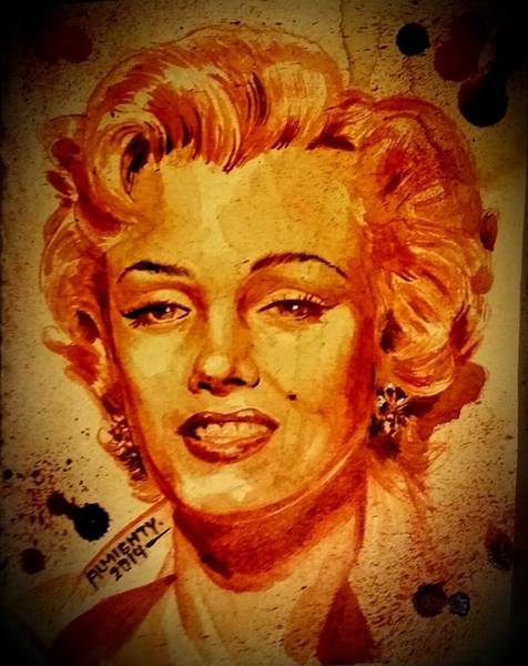 It Professional Painting - Marilyn Monroe by Ryan Almighty