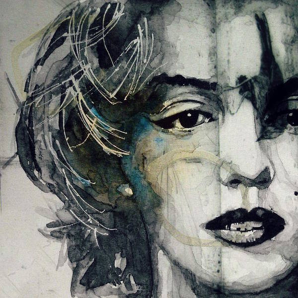 Wall Art - Mixed Media - Marilyn Monroe - Wicked Games by Paul Lovering
