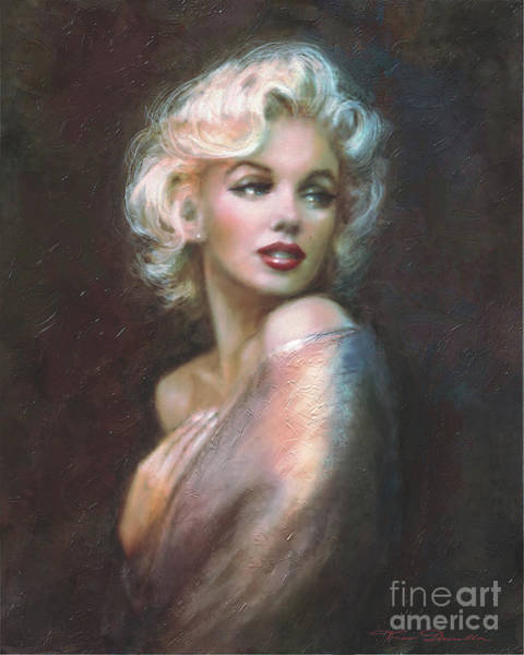 Norma Wall Art - Painting - Marilyn Ww  by Theo Danella