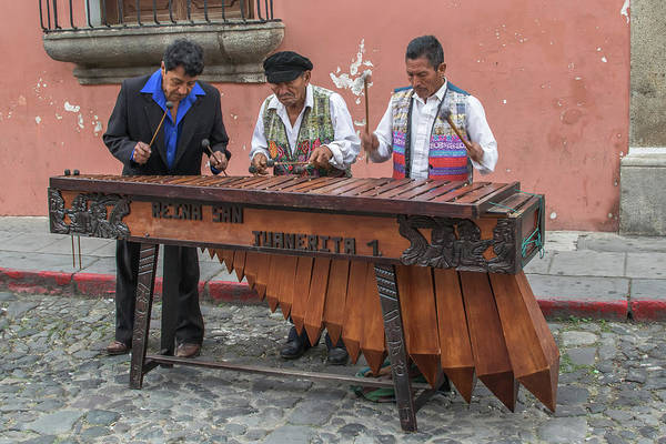 Wall Art - Photograph - Marimba - Antigua Guatemala Xi by Totto Ponce
