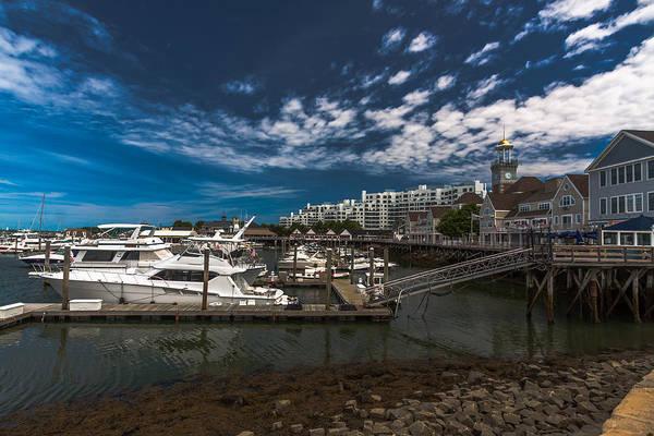 Photograph - Marina Bay Quincy Ma by Brian MacLean
