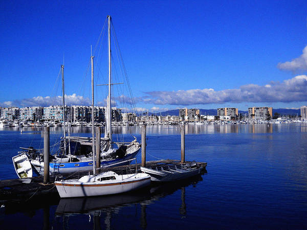 Wall Art - Photograph - Marina Del Rey Number 1 by Eve Paludan