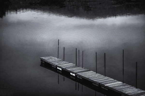 Photograph - Marina Dock by Tom Singleton