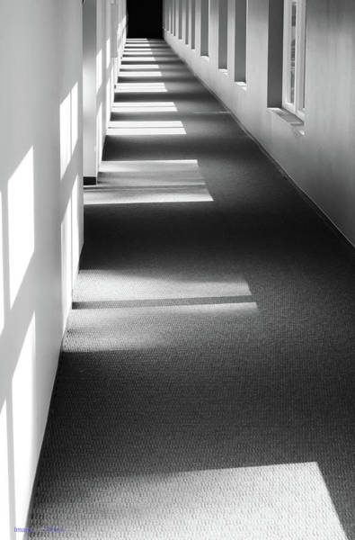 Photograph - Marina Grand Hotel Hallway. New Buffalo, Michigan by Rich Ackerman
