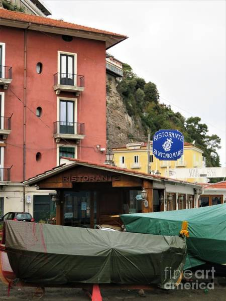 Photograph - Marina Grande Sorrento by Laurie Morgan