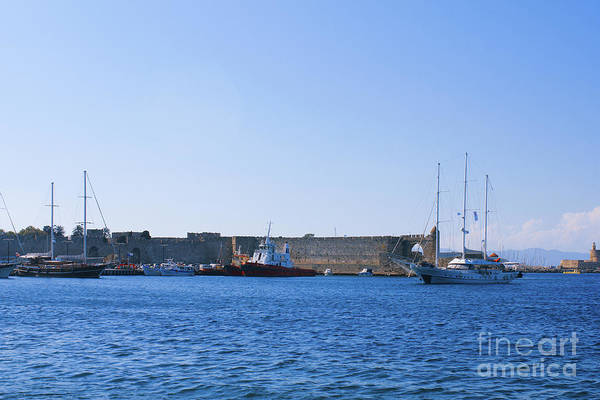Photograph - Marina In Greece by Donna L Munro