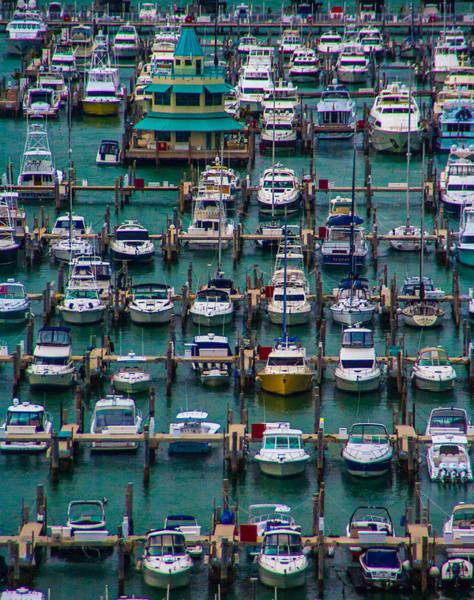 Photograph - Miami Marina Maze by Patti Deters