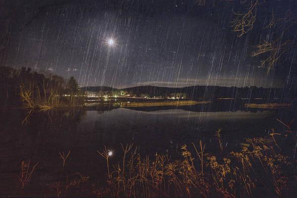 Photograph - Marina Moon by Tom Singleton
