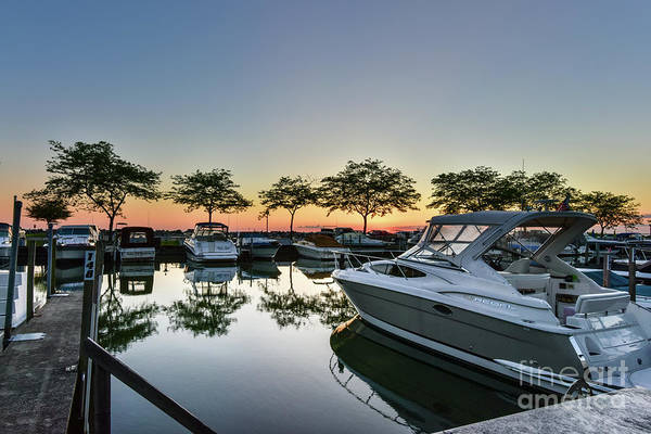Lake Huron Photograph - Marina Morning by Paul Quinn