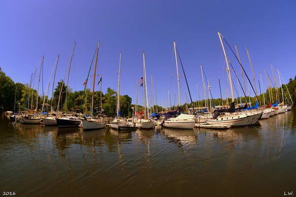 Photograph - Marina On Lake Murray S C by Lisa Wooten