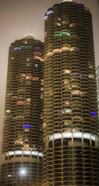 Photograph - Marina Towers by Sue Conwell