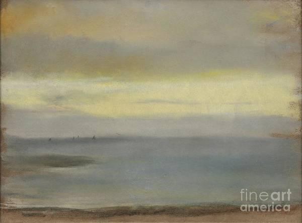Painting - Marine Soleil Couchant by Edgar Degas