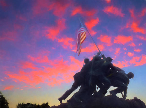 Us Marines Photograph - Marines At Dawn by JC Findley