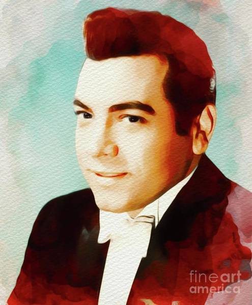 Opera Singer Painting - Mario Lanza, Hollywood Legend by John Springfield