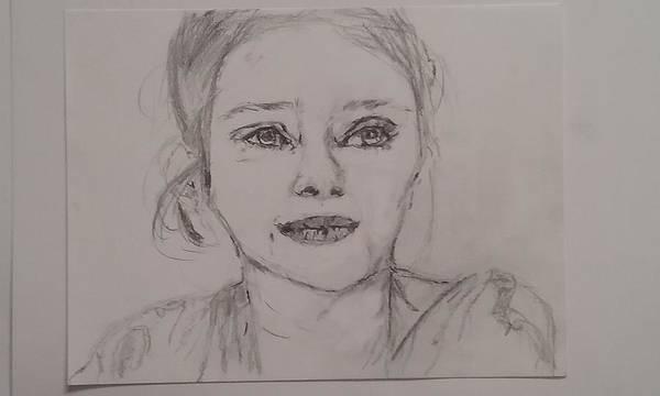 Marion Cotillard Wall Art - Drawing - Marion Cotillard by Matan Grunseit