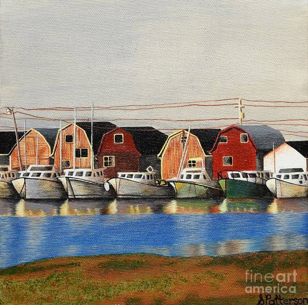 Wall Art - Painting - Maritime Boats by Sharon Patterson