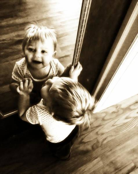 Photograph - Mark In The Mirror by Alice Gipson