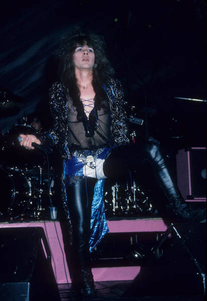 Photograph - Mark Slaughter Of The Vinnie Vincent Invasion by Rich Fuscia