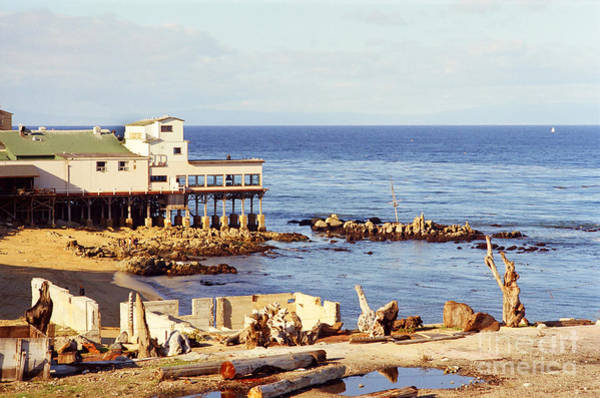 Photograph - Mark Thomas Outrigger Restaurant 700 Cannery Row  Monterey 1970 by California Views Archives Mr Pat Hathaway Archives