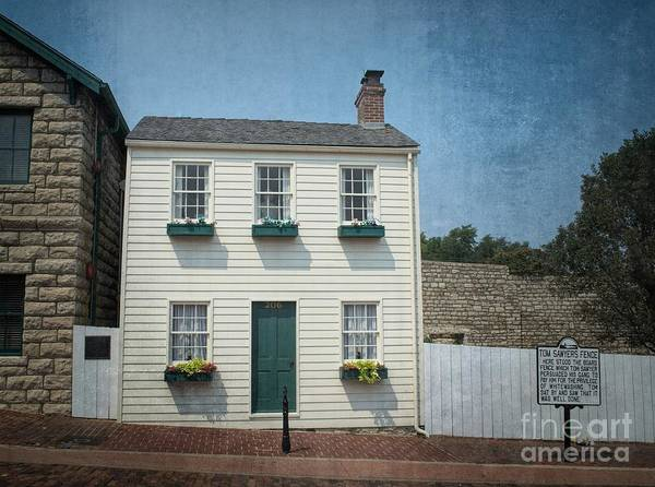 Wall Art - Photograph - Mark Twain Boyhood Home Hannibal by Luther Fine Art