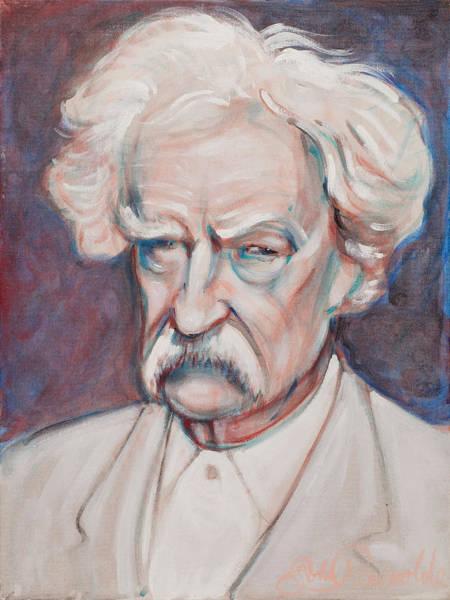 Painting - Mark Twain by John Reynolds