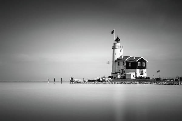 Marken Lighthouse Art Print