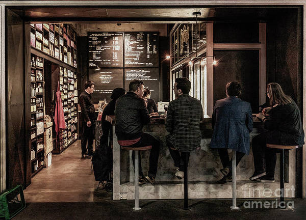 Photograph - Market Cafe by Ray Warren