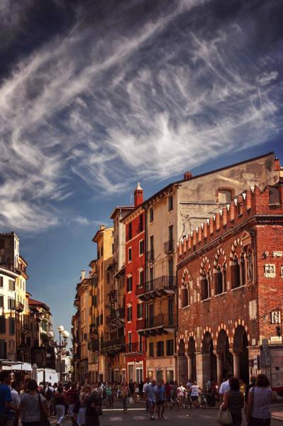 Wall Art - Photograph - Market Day In Verona by Carol Japp