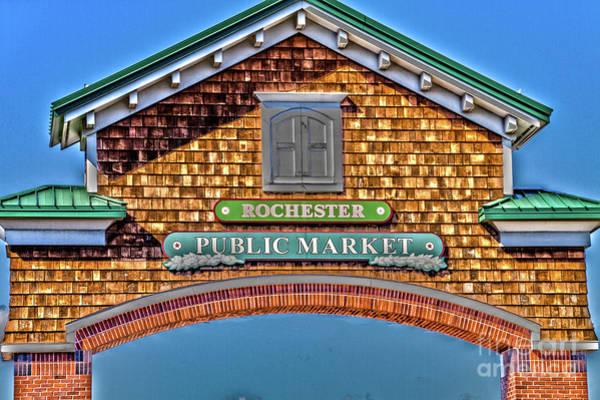 Photograph - Market Entrance by William Norton