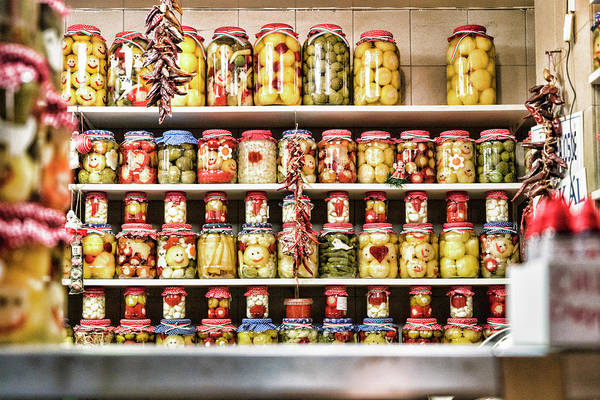 Photograph - Market Pickles by Sharon Popek