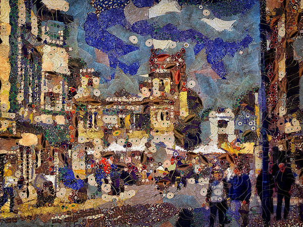 Digital Art - Market Square Monday by Leigh Kemp