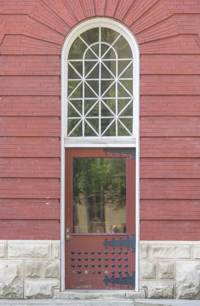 Wall Art - Photograph - Market Station Door by Teresa Mucha