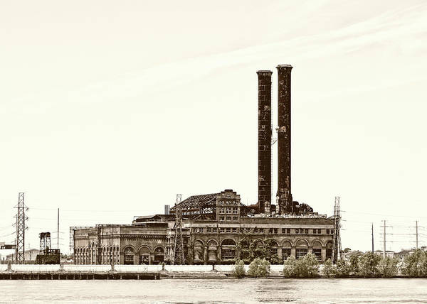 Photograph - Market Street Power Plant by Nicholas Blackwell