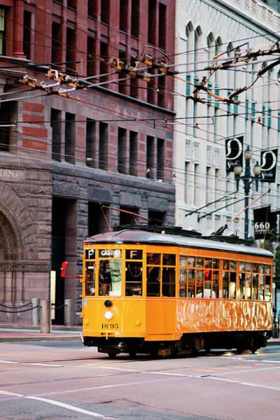 Wall Art - Photograph - Market Streetcar - San Francisco by Melanie Alexandra Price