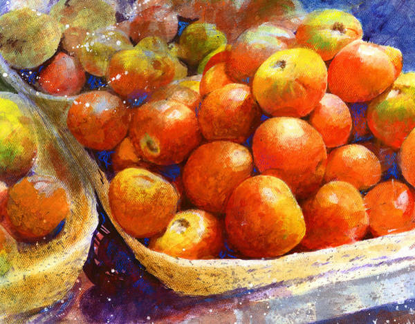 Painting - Market Tomatoes by Andrew King