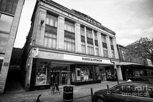Wall Art - Photograph - Marks And Spencer Store In Carlisle Built On The Site Of Highmore House by Joe Fox